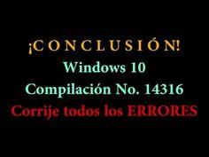Cómo Corregir Todos los Errores de Windows 10   Windows Fácil