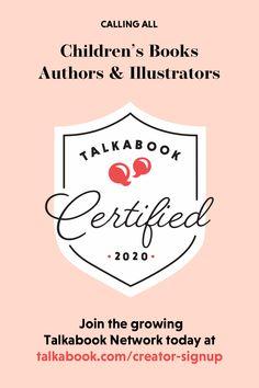 Apply To Our Network — Talkabook Marketing Books, Kids Sand, Children's Literature, Book Authors, Read Aloud, Book Illustration, Childrens Books, Illustrators, Book Art