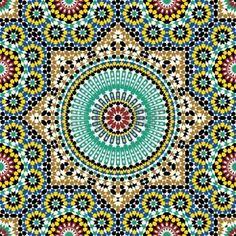 diseño arabe: Dise?o ?rabe tradicional Vectores