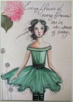 "Postcard Print ""Every Flower"""