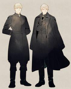 Ludwig & Gilbert // Prussia & Germany //