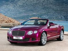 2013 Bentley Continental GT Speed Convertible Sneak Preview