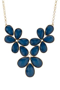 Blue Statement Necklace <3