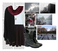 """""""🎶For All The Times You Rain on My Parade"""" by gbears6 ❤ liked on Polyvore featuring Edition, Topshop, BCBGMAXAZRIA and WALL"""