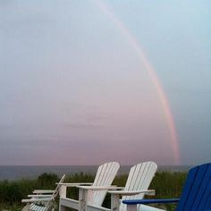 aug 1 2012.  mantoloking evening with rainbow.  mantoloking, nj.  by chris m and mother nature.