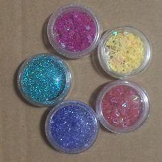 Free: Five Random Dishes Nail Art Stars Hearts Glitter - Nails - Listia.com Auctions for Free Stuff