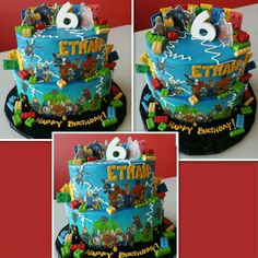 My own kiddos #cake, its busy because he wanted EVERYTHING! #spoiled…