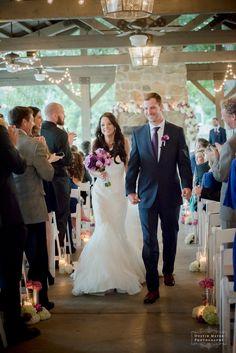 Rustic | Shabby Chic | Outdoor Ceremony | LBJ Pavilion Ceremony | Hyatt Regency Lost Pines Wedding | Dustin Meyer Photography