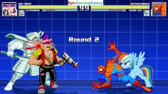 Spider-Man And Rainbow Dash VS Bebop And Silver Samurai In A MUGEN Match / Battle / Fight This video showcases Gameplay of Rainbow Dash From The My Little Pony Friendship Is Magic Series And Spider-Man The Superhero VS Bebop From The Teenage Mutant Ninja Turtles Series And Silver Samurai In A MUGEN Match / Battle / Fight