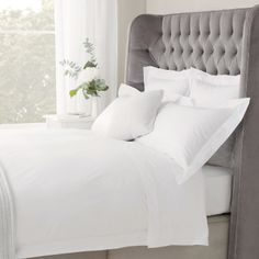 Savoy Bed Linen Collection - Bed Linen | The White Company