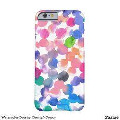 Watercolor Dots  iPhone 6 Case