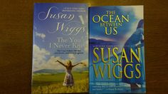 SUSAN WIGGS Books 2 Lot Romance The Ocean Between Us & The you I never Knew