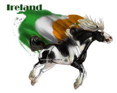 Horse Hetalia:  Ireland by MUSONART