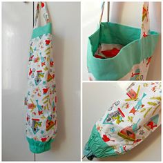 carrier bag storage. birds grocery bag dispenser, plastic organizer, carrier storage. home, birds, bicycles - kitchen storage, housewarming gift storage a