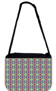 Rosie Parker Inc. - TM Medium Sized Laptop Messenger Bag 11.75' x 15.5' - Rainbow Kaleidescope ** More info could be found at the image url. (This is an Amazon Affiliate link and I receive a commission for the sales)