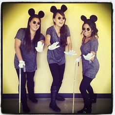 3 Blind Mice | 47 Last-Minute Halloween Costumes That Won't Get You Fired | POPSUGAR Fashion