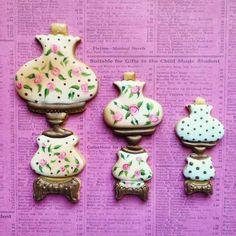 Tarsha Joyner:  Vintage victorian lamps