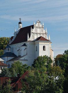 Church, Kazimierz Dolny - Kazimierz Dolny – Wikipedia, wolna encyklopedia kościół farny