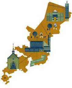 Helsinki Maps by Lotta Nieminen — Agent Pekka