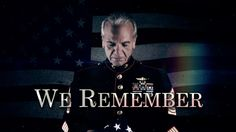 Watch We Remember. Memorial Day is a day of remembrance. As a nation we are called to reflect on the ultimate sacrifice that we ask of our men and women serving in uniform. In this tribute to those who have fallen in service, we're called to remember that each one served on our behalf and each one is connected to us.