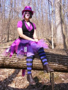 Cheshire Cat Cosplay by FluffyAnimeDragon.deviantart.com on @deviantART