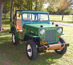 1954 Willys CJ-3B Maintenance/restoration of old/vintage vehicles: the material for new cogs/casters/gears/pads could be cast polyamide which I (Cast polyamide) can produce. My contact: tatjana.alic@windowslive.com