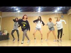 Wonder Girls - Like This mirrored Dance Practice - YouTube
