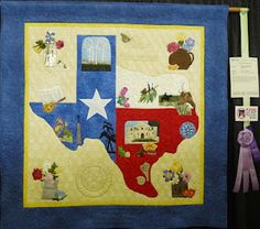 Texas quilt, was entered in the Dallas Quilt Show