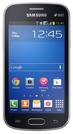 SAMSUNG GALAXY TREND FRESH DUOS S7392 BLACK