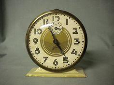 Vintage Alarm Clock Salute by Ingraham, Bristol, Conn., USA