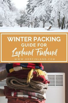 Freezing winter temperatures in the arctic circle can be daunting. Have no fear, dressing for the cold weather is made easy with my ultimate Lapland packing list! #lapland #travelfinland Finland Destinations, Travel Destinations, Winter Packing, Winter Travel, Finland Travel, Lapland Finland, Visit Santa, Travel Things, Arctic Circle