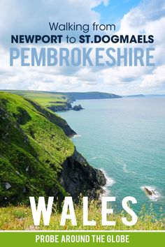 Read my practical tips for walking from Newport to St.Dogmaels and end in Cardigan on the Pembrokeshire Coast Path, part of Wales Coast Path #walkingwales #wales #hikingholidays #pembrokeshire #pembrokeshirecoastpath Backpacking Europe, Europe Travel Tips, Travel Guides, Travel Destinations, Scotland Travel, Ireland Travel, Pembrokeshire Coast Path, Travel Activities, English Countryside