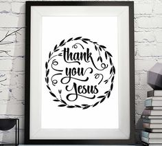 https://www.etsy.com/uk/listing/591057220/thank-you-jesus-jesus-thank-you-thank?ref=listing_published_alert Thank You Jesus, Jesus thank you, thank you Jesus sign, because Jesus, give me Jesus quote, give me Jesus Christian Quote, Christian Sayings