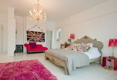 Love Love Love the bed and chandelier!!!