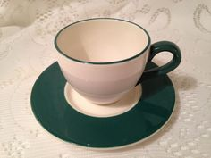 Modern Set of 6 Demitasse/Espresso Cups and Saucers, Made in Italy