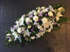 Flowers and Home added 129 new photos to the album: Funeral Tributes. Funeral Flower Arrangements, Funeral Flowers, Floral Arrangements, Wedding Flowers, Funeral Sprays, My Flower, Flower Ideas, Sympathy Flowers, Arte Floral