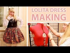 Making a Lolita Dress by SweetGlow - YouTube No measurements or instructions you see all the steps though it's more detailed and slow and sturdier sewing than the other vids