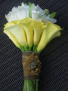 Calla Lily Bouquet by sweet.dreams