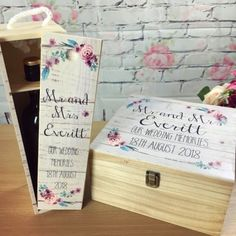 Looking for wedding memory box gifts? Our wooden box gifts come with a free wine box set and can be personalised for weddings or any other occasions.They are amazing gifts for the special couple and the gifts can be personalised to suit all specia. Wedding Memory Box, Wedding Boxes, Our Wedding, Wedding Gifts, Personalised Gifts Uk, Personalised Keyrings, Personalized Wedding, Elephant Size, Elephant Family