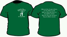 My son designed a shirt that we are selling, profit will be sent to Sandy Hook library for purchase of books in memory of the victims.