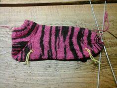 Me nieuwe sokken Door moeders genaakt, lekker warm!