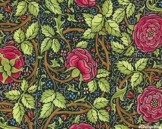Arts and Crafts movement - I love the detail in the leaves. The intricacy of vines is a sure sign of the movement. This piece is very busy.