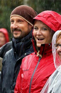 Crown Princess Mette Marit and Crown Prince Haakon