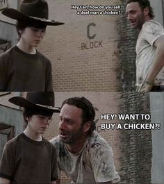The 19 Greatest Dad Jokes From Rick Grimes my dad would use some of these!