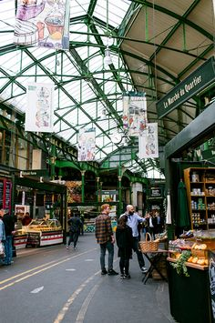 Borough Market - London (you won't see it liekt his ona  weekend, when it is absolutely packed with tourists)