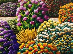 From Page Blackie Gallery, Karl Maughan, Te Maipa Oil on canvas, 91 × 91 cm My Flower, Flower Art, Flowers, Artist Painting, Painting & Drawing, Country Scenes, Contemporary Artists, Oil On Canvas, Arts And Crafts