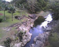 Vista a rea de fajardo luquillo y al fondo el yunque pr for Bodas en el jardin botanico de caguas