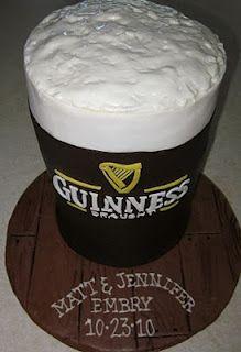 Guinness Beer Mug Cake