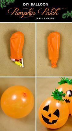 citrouille balon