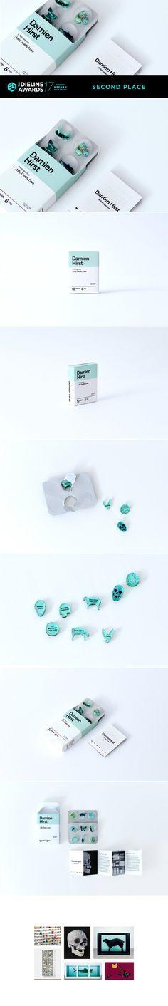 The Dieline Awards 2017: Artist Invitation - Damien Hirst — The Dieline | Packaging & Branding Design & Innovation News